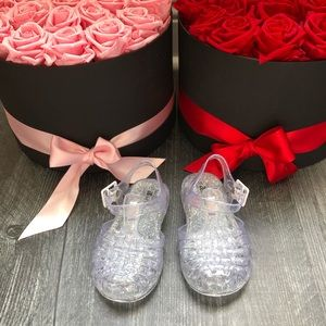 Other - Brand new never worn size 5 Clear Jellies Toddler